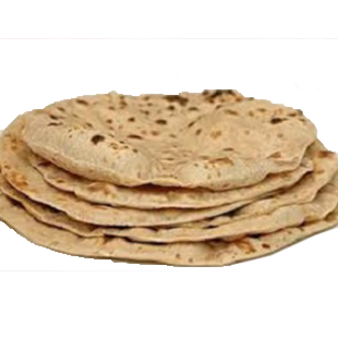 Chappati with butter