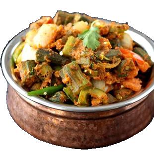 Kadai Bhindi- (seasonal)