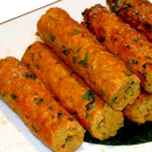 Vegetable Sheek Kebab